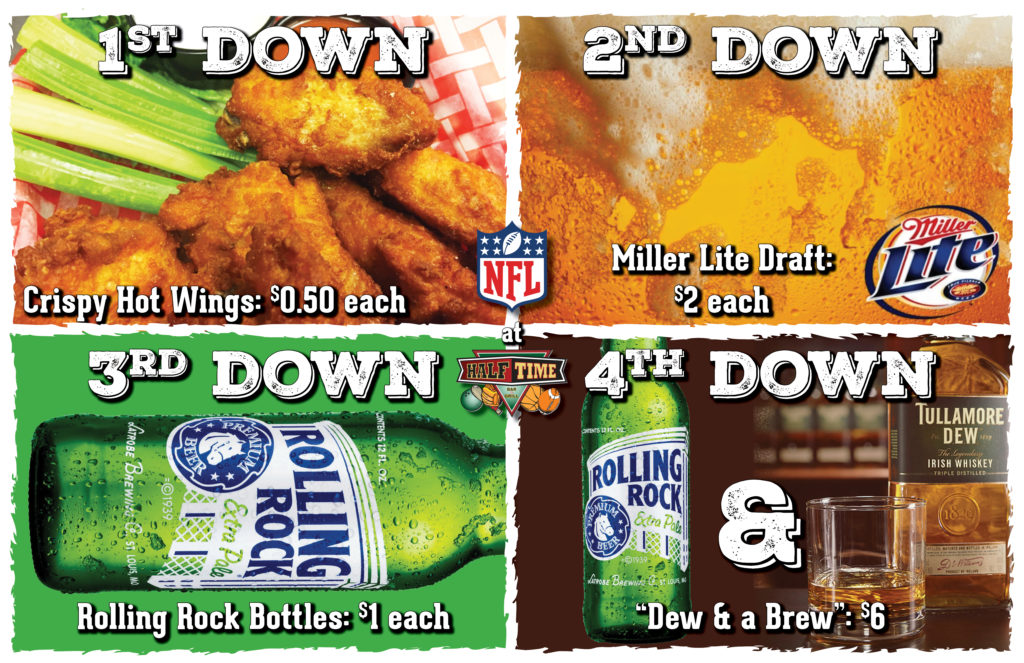Four Downs Football Specials